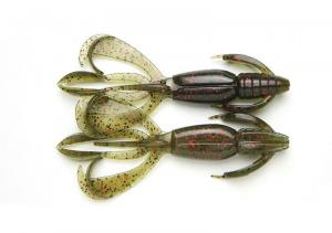 "Keitech Crazy Flapper 2,8"" Electric Green Craw #464"