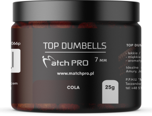 TOP DUMBELLS COLA 7mm / 25g MatchPro