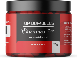 TOP DUMBELLS KRILL 7mm / 25g MatchPro