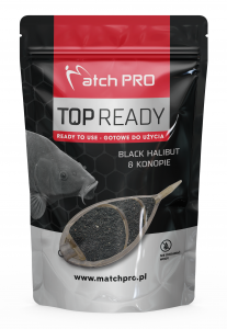READY METHODMIX BLACK HALIBUT KONOPIE MatchPro 700g