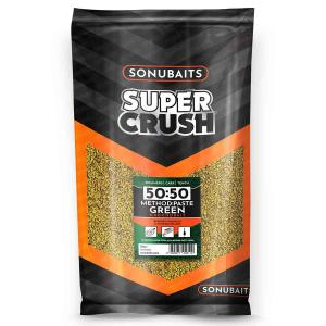 Sonubaits Supercrush - 50:50 Method and Paste Green 2kg