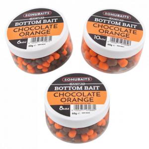 Sonubaits Band'Um Bottom Bait - 10mm Chocolate Orange
