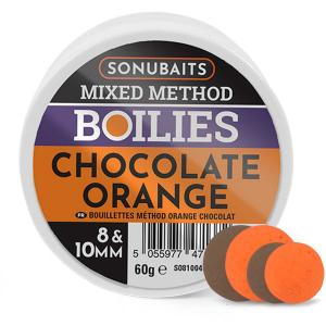Sonubaits Mixed Method Boilies 8 i 10 mm - Orange Chocolate
