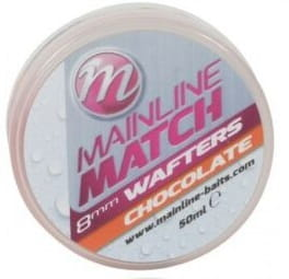 Mainline Match Wafters 8mm - Chocolate