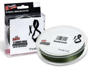 Sufix Plecionka X8 Braid ST. GREEN 0,128mm 150m