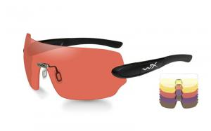 Okulary Wiley X DETECTION Clear/Yellow/Orange/ Purple/Copper / Matte Blk.