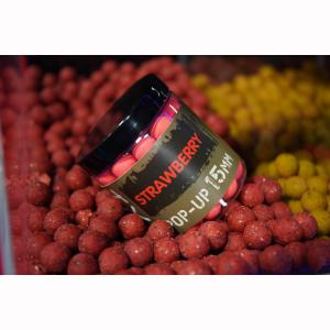 Kulki PopUp Shimano Tribal TX1 12mm 100g Strawberry Fluo Red