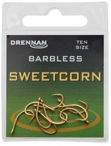 Haki SWEETCORN BARBLESS Drennan # 8 | 10 szt Barbless