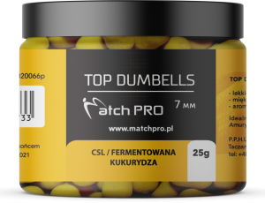TOP DUMBELLS CSL 7mm / 25g MatchPro