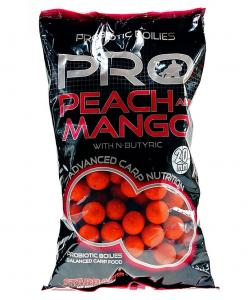 Starbaits Kulki Pro Peach & Mango 14mm 1kg