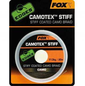 Fox EDGES Camotex Stiff Coated Camo Braid 25lb-20m