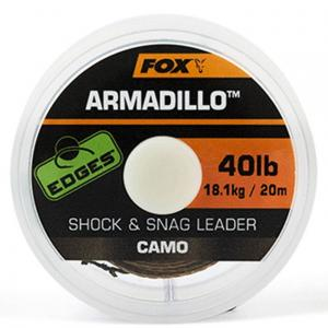 Fox EDGES Armadillo Camo Shock & Snag Leader 40lb x20m