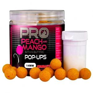 Starbaits Kulki Probiotic Peach Mango Pop Up 14mm