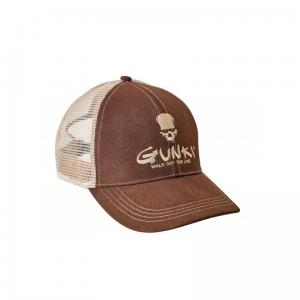 CZAPKA TRUCKER BROWN GUNKI