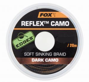 Fox REFLEX SOFT SINKING BRAID Dark Camo 20 m