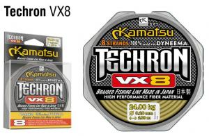 Kamatsu Techron VX8 100m  0,10mm